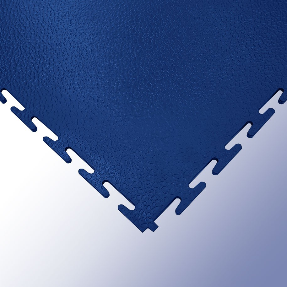 VIGOR Interlocking Morphic Tile Dark Blue 500mm x 500mm x 7mm