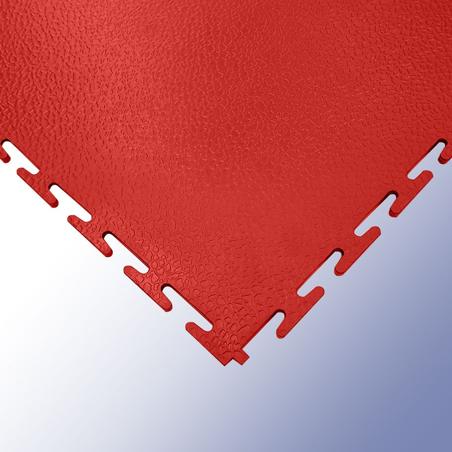 VIGOR Interlocking Morphic Tile Red 500mm x 500mm x 7mm