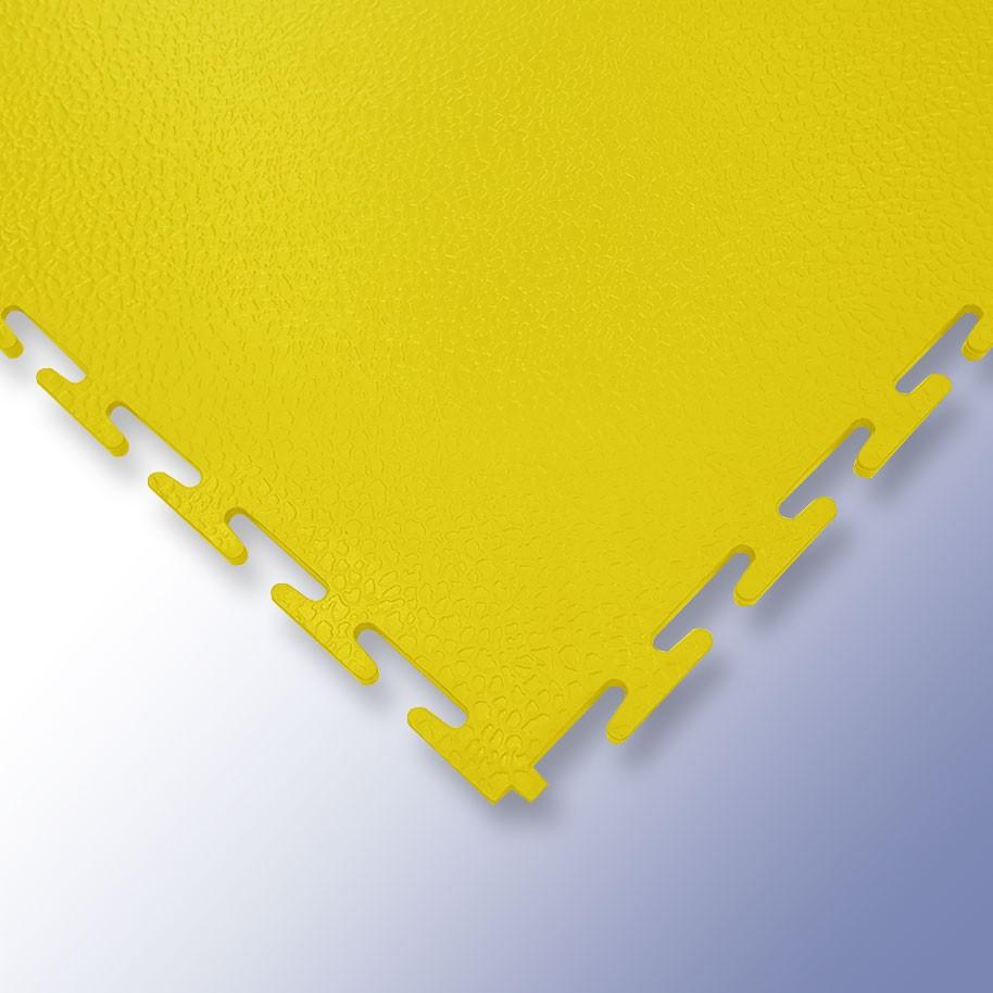 VIGOR Interlocking Morphic Tile Yellow 500mm x 500mm x 7mm