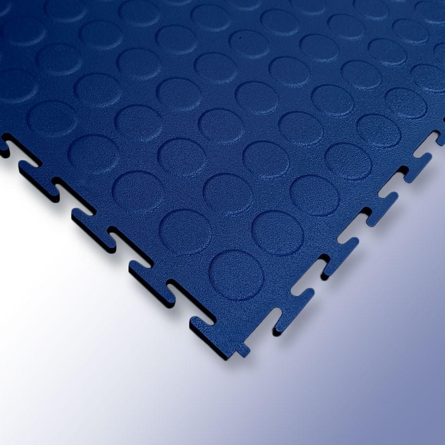 VIGOR Interlocking Studded Tile Dark Blue 500mm x 500mm x 7mm
