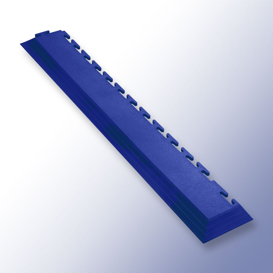 VIGOR Interlocking Tile Corner Dark Blue 585mm x 75mm x 7mm