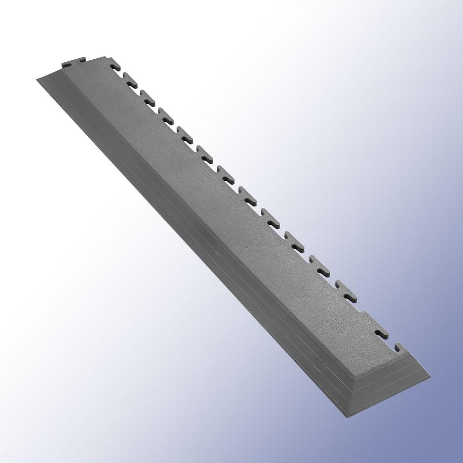 VIGOR Interlocking Tile Corner Dark Grey 585mm x 75mm x 7mm