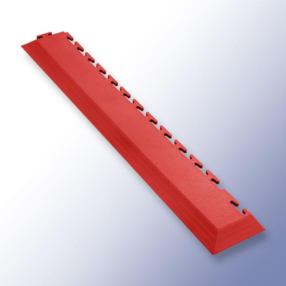 VIGOR Interlocking Tile Corner Red 585mm x 75mm x 7mm