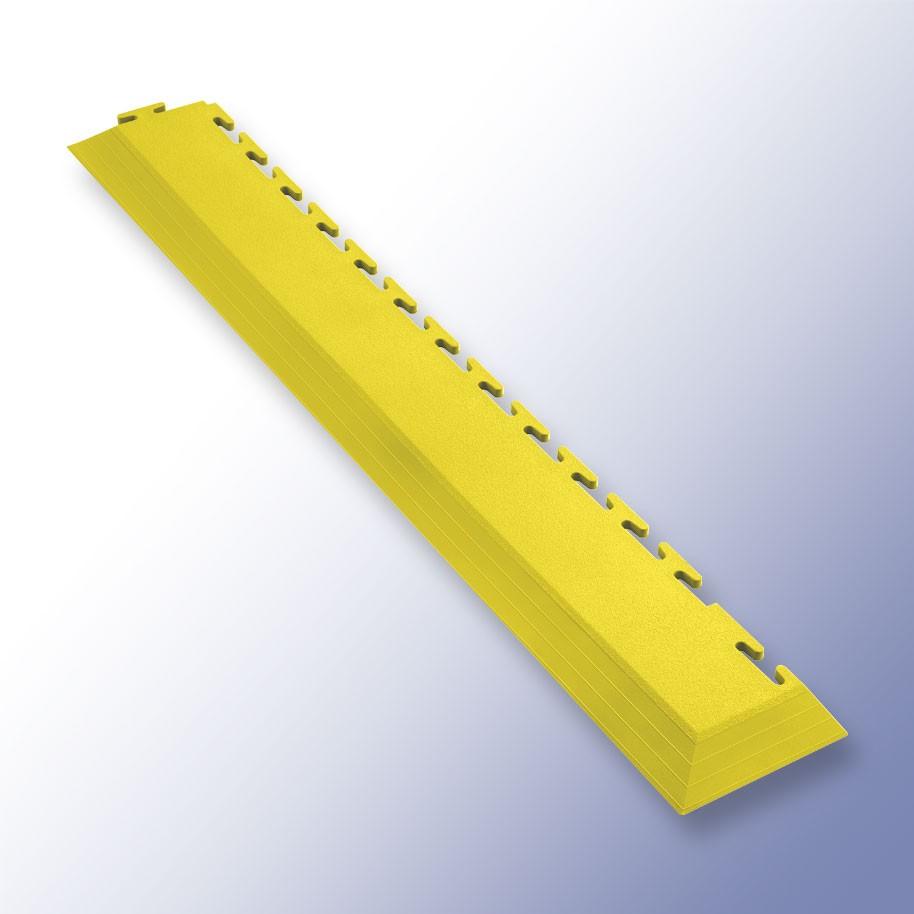VIGOR Interlocking Tile Corner Yellow 585mm x 75mm x 7mm