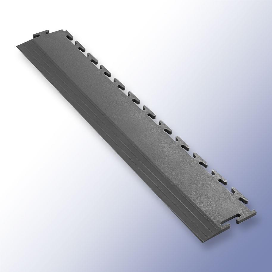 VIGOR Interlocking Tile Edge Dark Grey 500mm x 75mm x 7mm