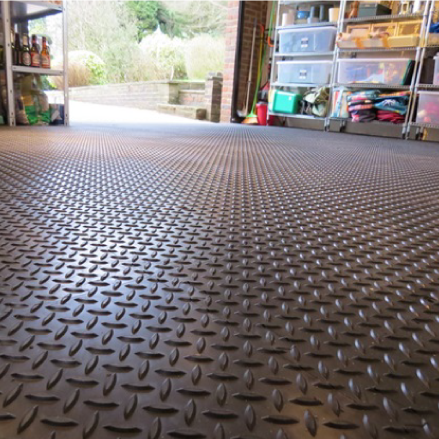 Rubber Garage Flooring Interlocking Floor Mats Polymax