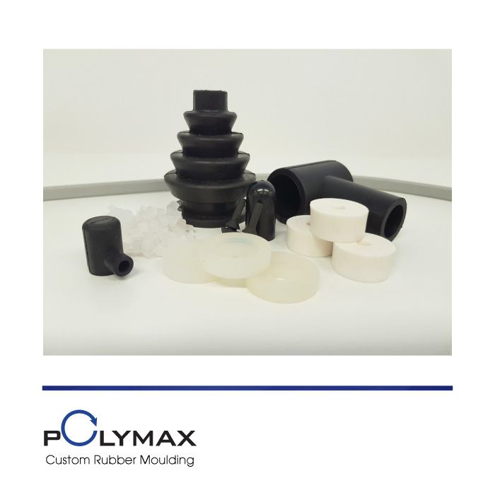 Anti-Vibration Mounts in FDA Silicone