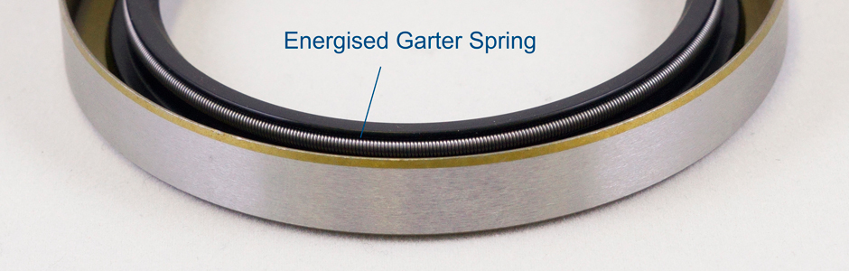 Oil seal steel garter spring