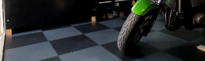 Garage floor Paint VS Garage Floor Covering