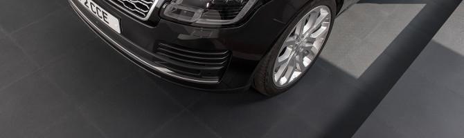 Garage Floor Tiles in Application